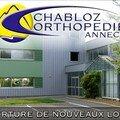 Ouverture chabloz orthopédie annecy