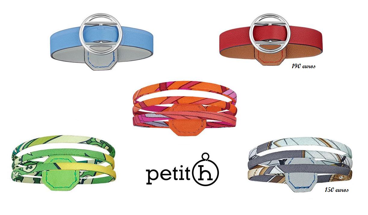 Nouveautés Petit h : Les bracelets colorés