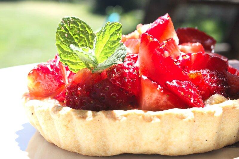 Tartelettes rhubarbe fraise1