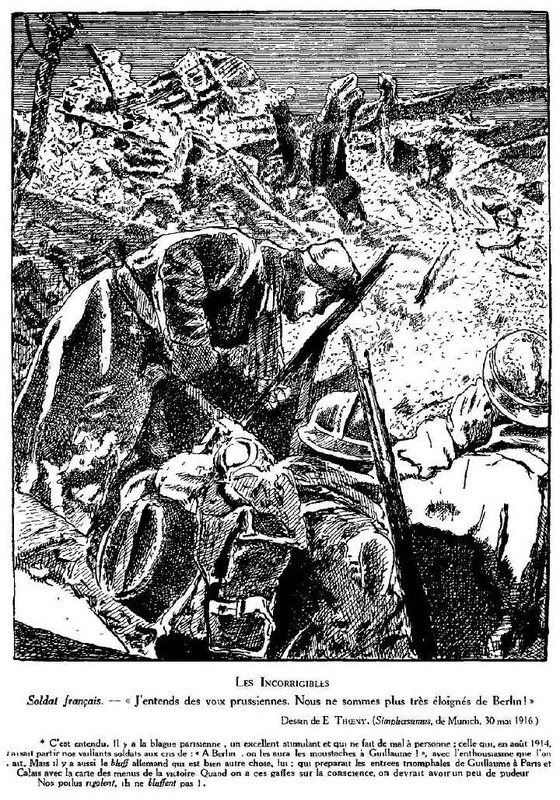 Dessins de guerre Verdun67