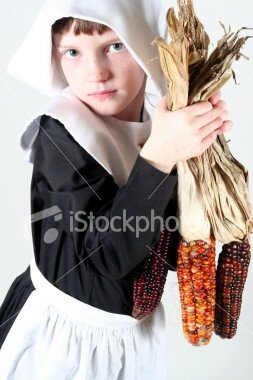 pilgrim_with_corn