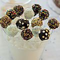 Cake pops d'anniversaire