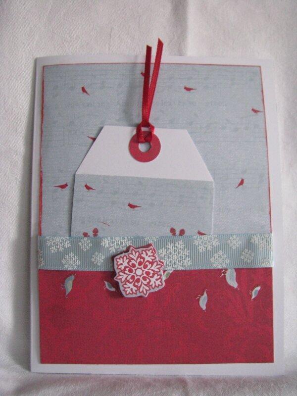 carte Noël 2010