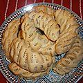 Gâteaux menkouche aux amandes