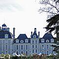 Château de Cheverny côté jardin...