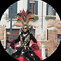Carnaval de venise 2017, costume