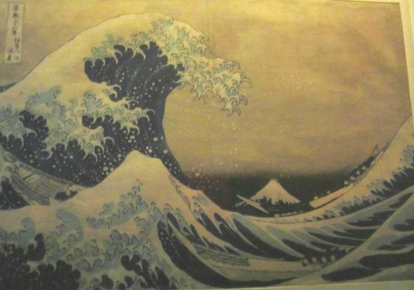 La grande vague 1830-32 Hokusai