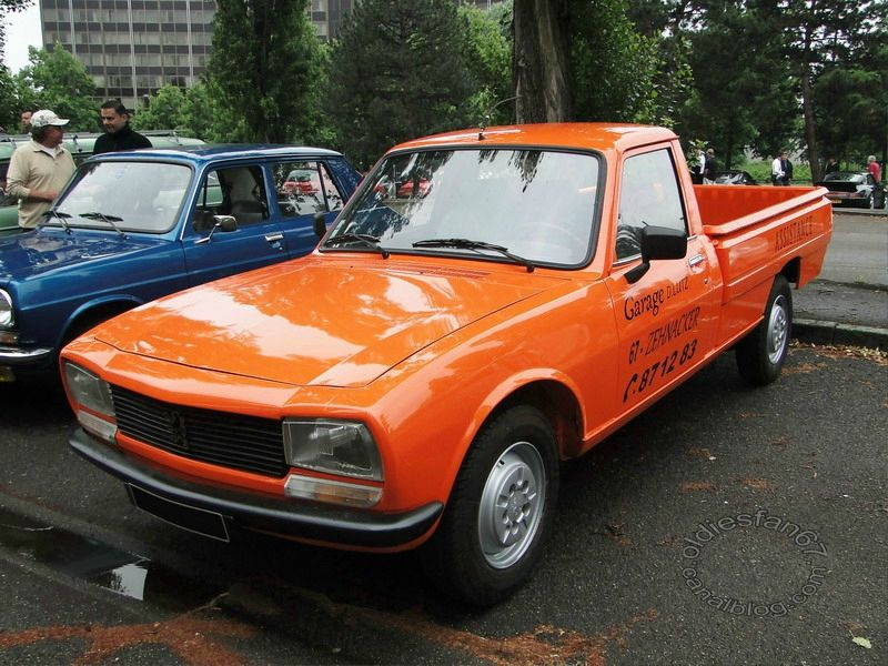 peugeot 504 pickup 1979 1996 oldiesfan67 mon blog auto. Black Bedroom Furniture Sets. Home Design Ideas