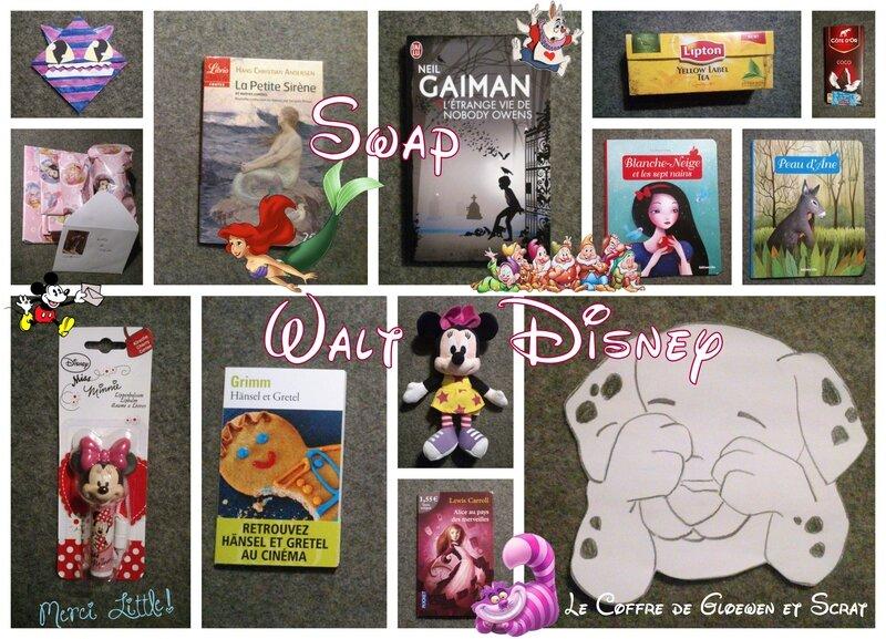 Colis envoye par Little pour le swap Walt Disney (2)