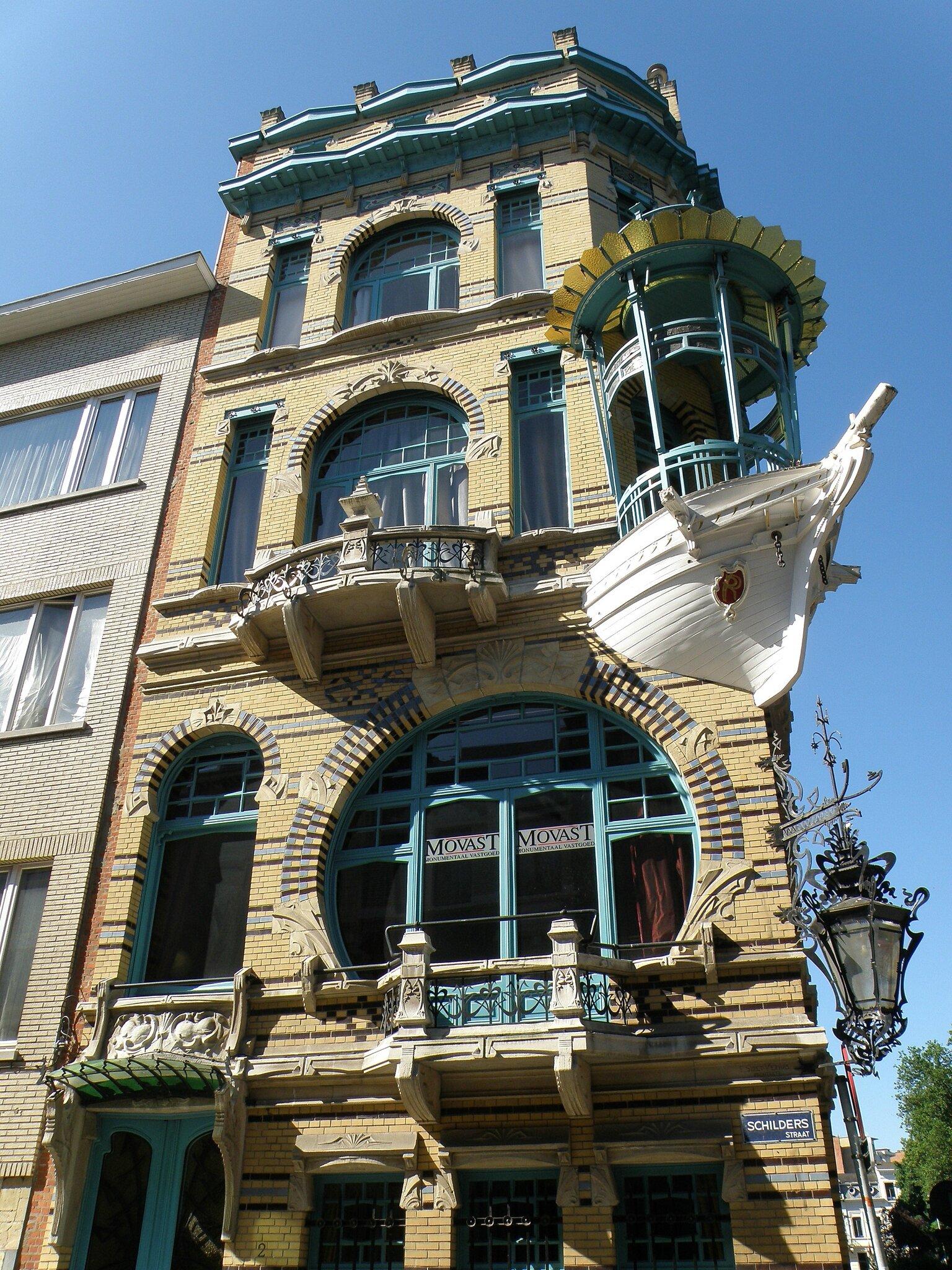 Mon Top 10 Architecture Art Nouveau N 9 L 39 Immeuble Les Cinq Continents