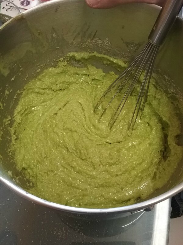 Amaretti à la pâte de pistaches 013