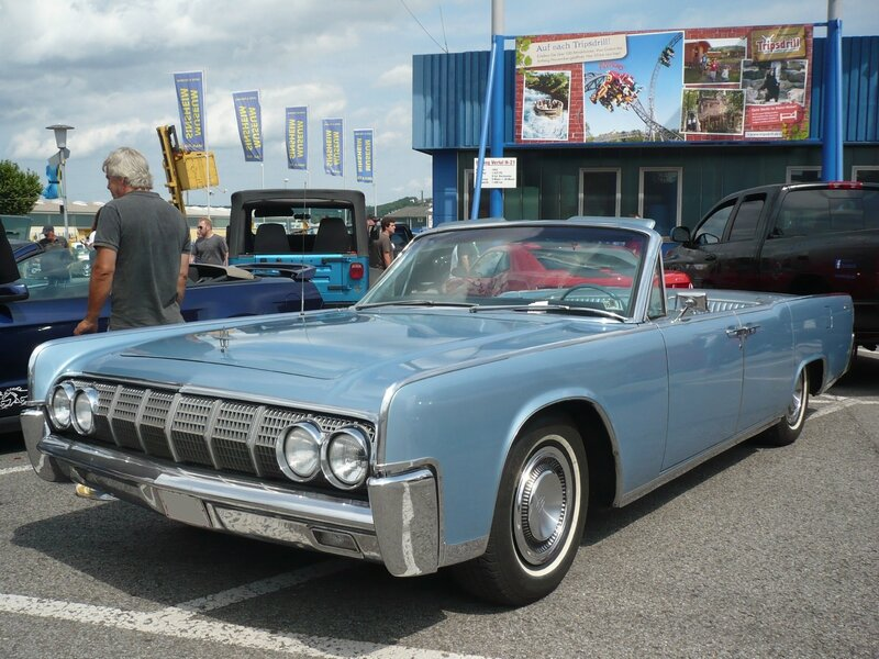 LINCOLN Continental 4door convertible 1964 Sinsheim (1)