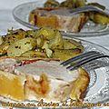 Filet mignon en croûte au chorizo et fromage à raclette