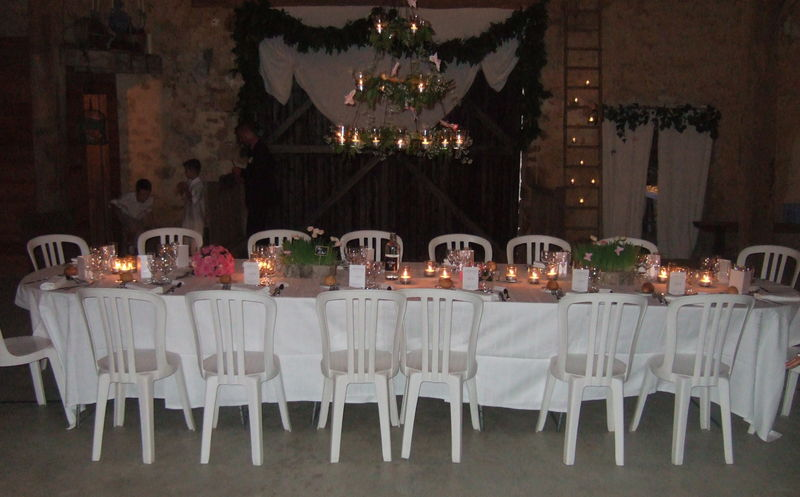 Mariage Poitiers Table Des Maries Photo De Mariage