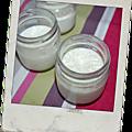 Petites crèmes dessert à la vanille (ou au chocolat)