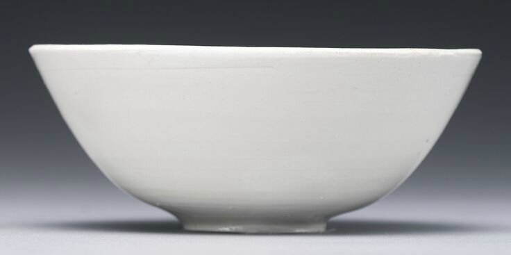 A small carved 'Ding 'Lotus' bowl, Northern Song dynasty2