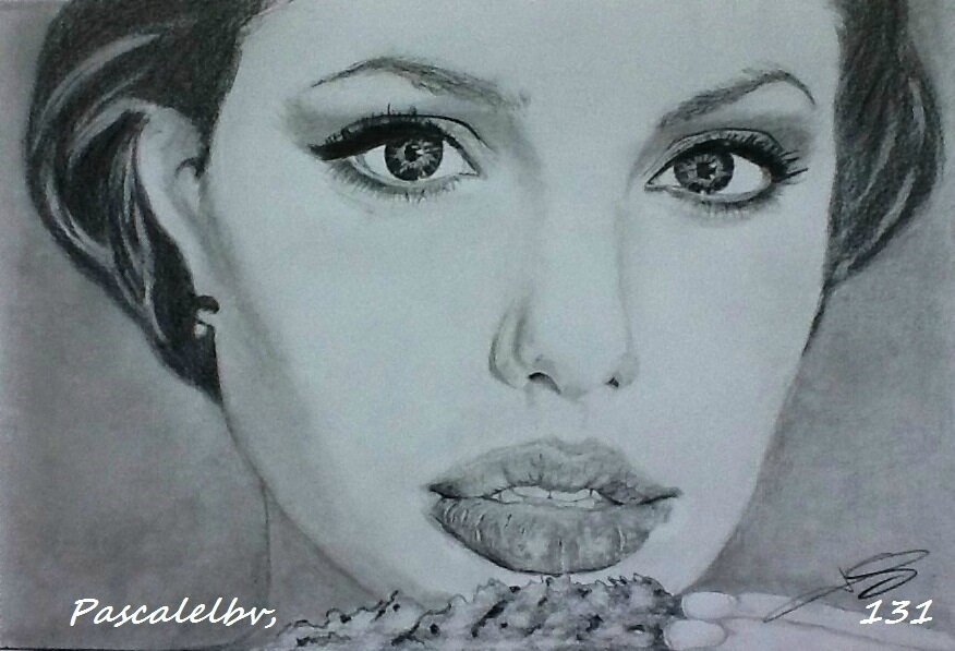 131 Angelina Jolie, 20X30 - DISPONIBLE