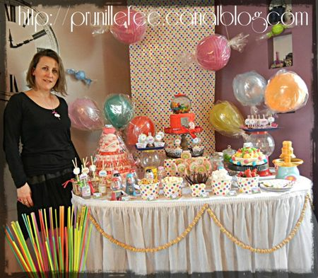 nadege creaprovence in candyland birthday party