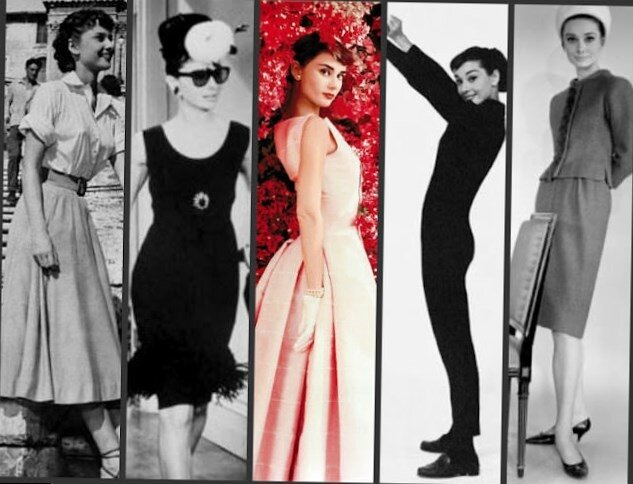 The-many-looks-of-Audrey-Hepburn