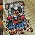 Grille panda corde à sauter