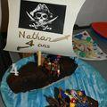 2008 Novembre - Gteau pirates 4 ans Nathan
