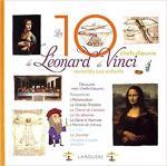 Les 10 chef d'oeuvres de de Vinci racontés aux enfants couv