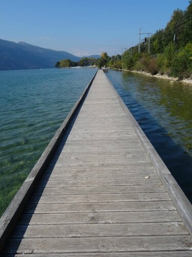 Passerelle lac Bourget