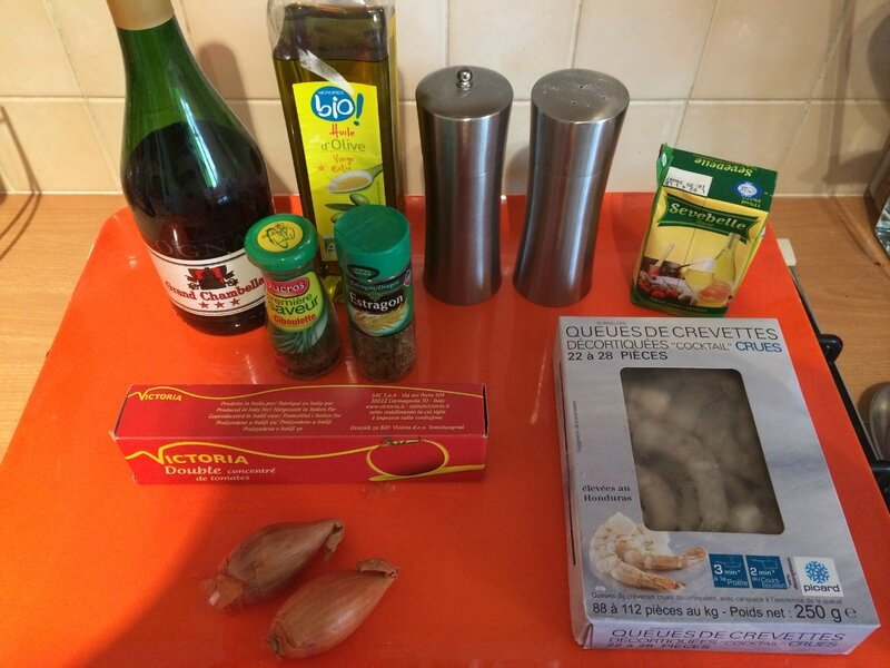 Queues de gambas l 39 am ricaine ww thermomix la - Cuisiner gambas surgelees ...