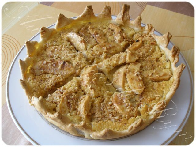 Ma tarte aux pommes normande