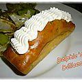 Cake chevre et saumon ... topping fromage saveur fruit de la passion