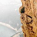 vue de la route des crêtes Cassis - Bdu R
