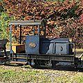 Derniers panaches avant l'hiver au chemin de fer des chanteraines.