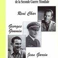Le coin lecture : trois grands vauclusiens dans la tourmente de la seconde guerre mondiale