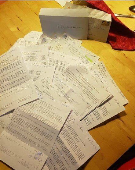 Noël dans la boite aux lettres
