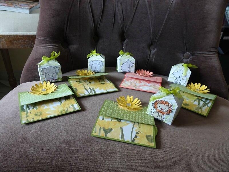 10a cartes et boites réalisées