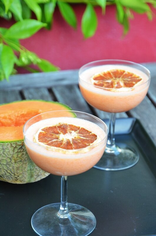 Daiquiri melon alcool