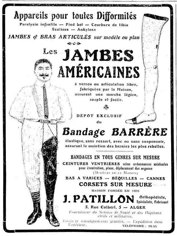 Jambes américaine