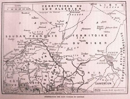 pénétration des pays voisins du Soudan