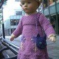 robe de Finchen(laine La Droguerie)