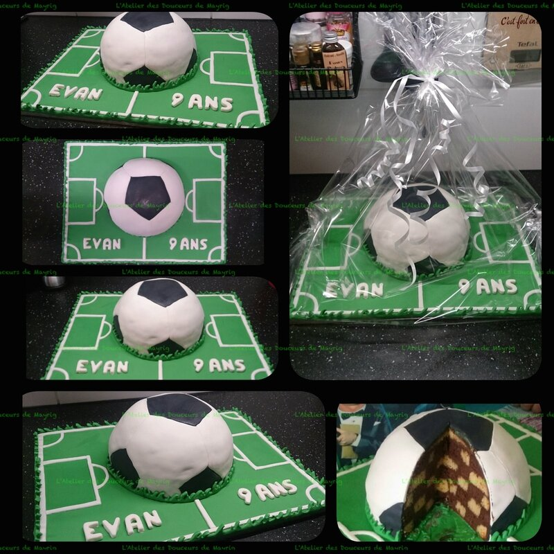 GÂTEAU FOOTBALL EVAN