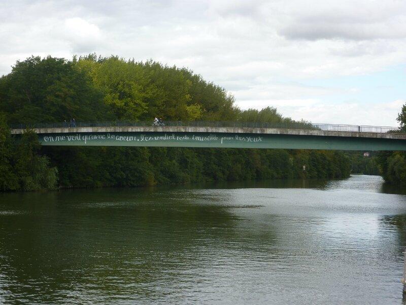 Pont du Port de Cergy