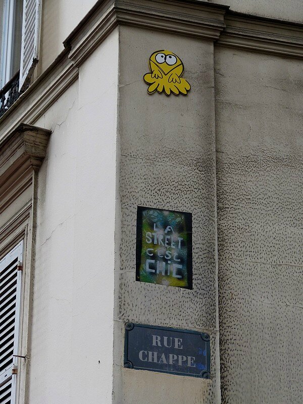 rue chappe paris 18