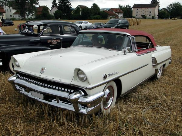 mercury montclair convertible 1955 3