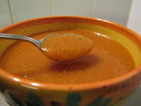 Soupe de courgettes tomate2