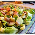 Salade knacki-ratte
