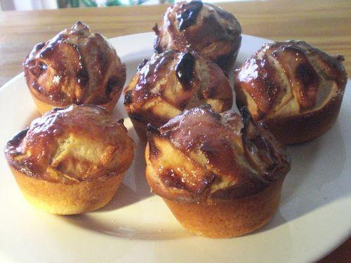 Min-cakes aux pommes