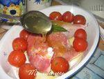 Cuisse de dindonneau miellé aux tomates confites 005
