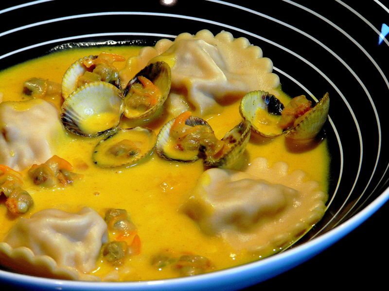 14 Pâtes & Riz - Coques et ravioles fenouil tomates mi-confites 1