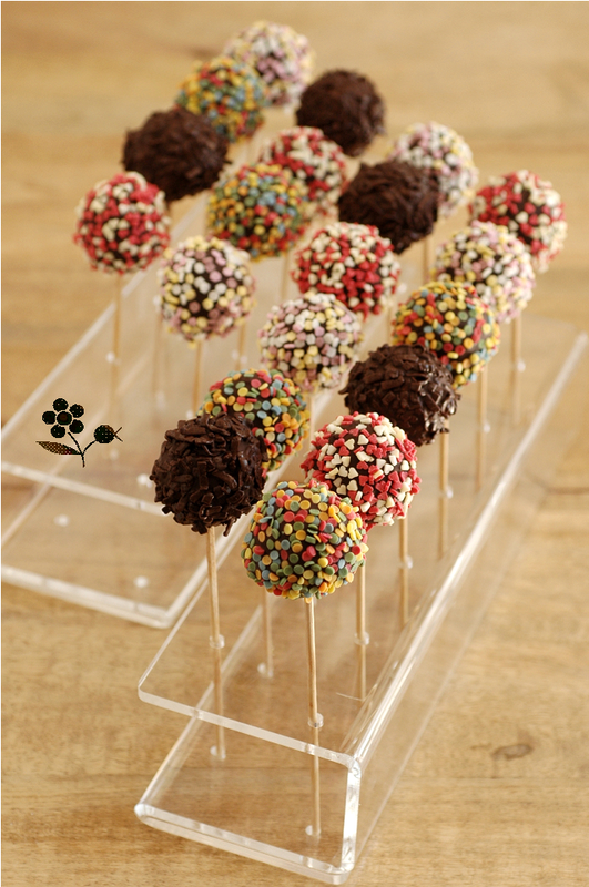 Cake pops + socle