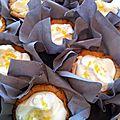 Les tartelettes sablées à la mousse de citron